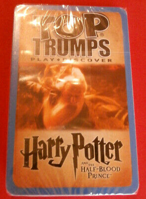 HARRY POTTER - HALF-BLOOD PRINCE - COMPLETE SEALED SET of TOP TRUMPS CARDS