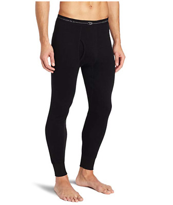 Quality Thermal Winter Underwear Men Wicking Pant Bottoms Long Johns Cotton Poly