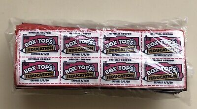 1200 Box Tops For Education BTFE exp. 3/2020 Neat Sheets Of 8 Easy Submission
