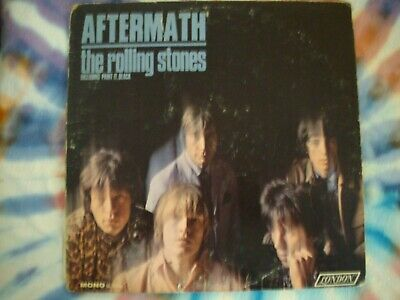 MONO - AFTERMATH - The ROLLING STONES - VERY NICE  VINYL - PLAYS FINE