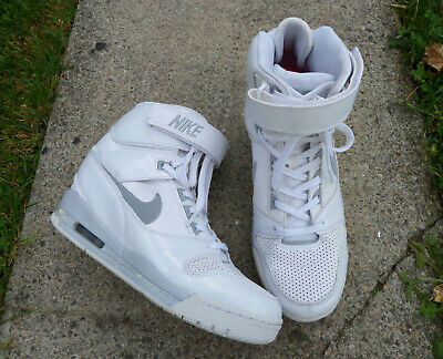 detailed images entire collection save off BASKETS NIKE WMNS Air Revolution Sky Hi T41 Cuir Comme ...