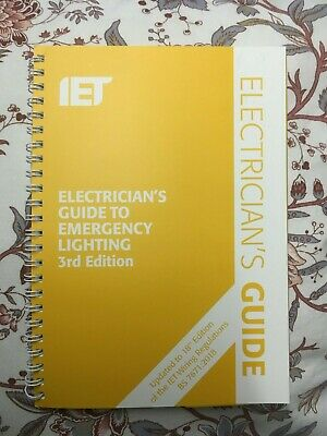Electrician's Guide to Emergency Lighting,3rd Edition (26 Aug. 2019)
