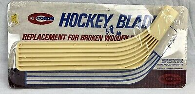 Vintage Cosom Replacement Hockey Blade Field Floor Plastic Cycolac 1970s NOS