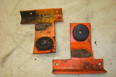 1974 Case 1370 Tractor Radiator Mounts Supports