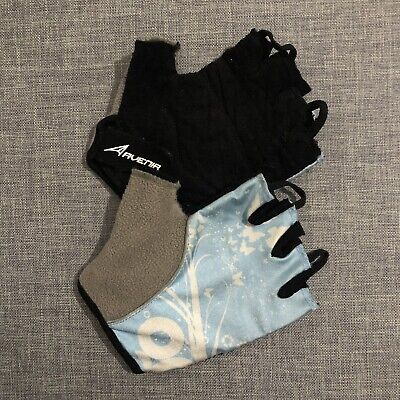 Carnac Racing 210 Road Bike Cycling Gloves Mitts Blue Small