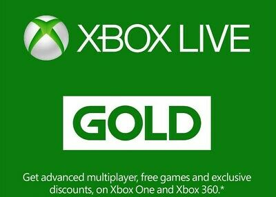 XBOX LIVE 14 Day GOLD 2 weeks Trial Membership Code - 5mins -24hr dispatch