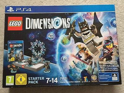 LEGO Dimensions: Starter Pack (PlayStation 4) PS4. BNIB.