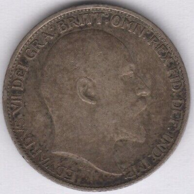 1902 Edward VII Silver Sixpence | British Coins | Pennies2Pounds