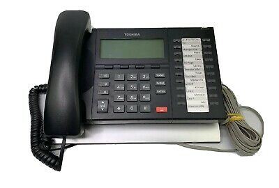 Toshiba DP5132-SD 20-Button LCD Backlit Display Digital Business Telephone Used