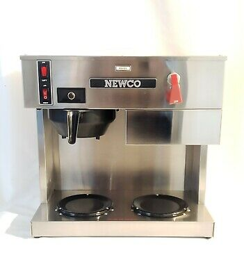 NEWCO LPF Automatic Brewer with Hot Water Commercial Coffee Brewer