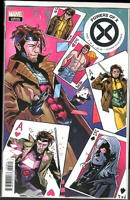 Marvel Comics POWERS OF X #5 GAMBIT VARIANT COVER