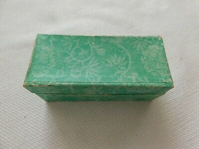 Small Old Chinese Hand Carved Lion Stone Seal With Box