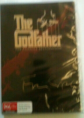 The Godfather Trilogy=NEW R4 DVD