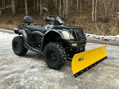 Quad ATV CFMoto Goes Cobalt MAX Langversion 4x4 Winteredition + Schneeschild NEU