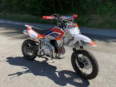 Kayo DS90 Enduro Motocross Dirtbike Motorrad orange weiss Kindercross