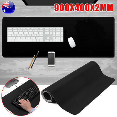AU Large Size Gaming Mouse Pad Desk Mat Rubber Speed Extended Anti-slip Mousepad