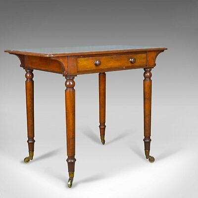 Antique Side Table by Holland and Sons, English, Victorian, Mahogany, Circa 1860