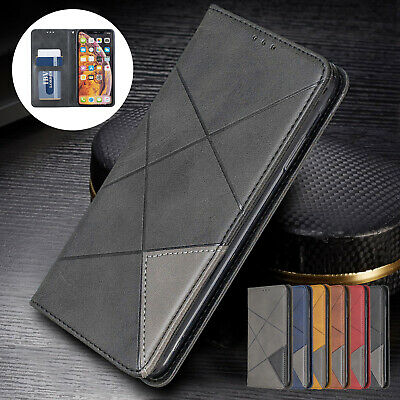 For iPhone 6s Plus 7 8 Case XS Max XR Lucury Magnetic Leather Pocket Stand Cover