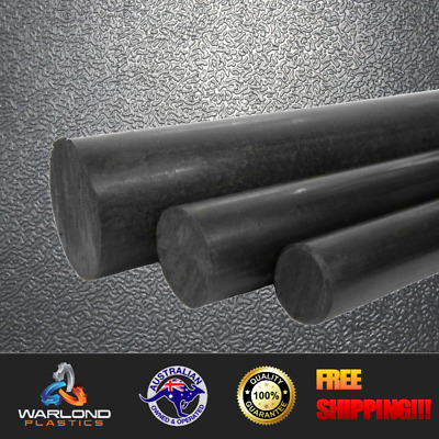 Black & Natural Nylon 6 Extruded Rod - Select Sizes - Free Shipping!