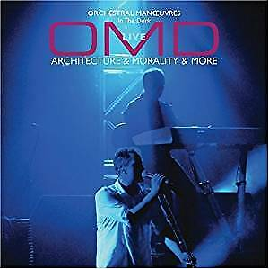 Orchestral Manoeuvres In the Dark OMD Live Architecture & Morality & More CD NEW