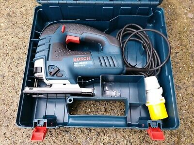 Bosch Jigsaw GST 150 BCE, 110v corded, dust extraction, joinery wood work tool