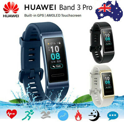 Huawei Band 3 Pro Built-in GPS Smart Watch AMOLED Touch Screen Watch