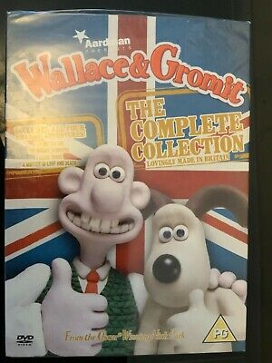 Wallace & Gromit The Complete Collection DVD