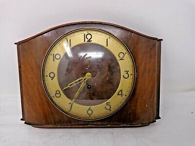 KIENZLE Wind Up Wall Clock untested & without winder  (A4)