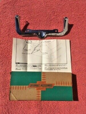 1963 1964 Chevrolet Station Wagon NOS Accessory Trim Gas Door Guard #985489