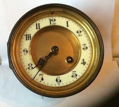 Vintage French Clock Movement, Inc  Dial,Bezel,Glass ,By Japy Freres