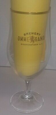 Ommegang Brewery Goblet Style Glass