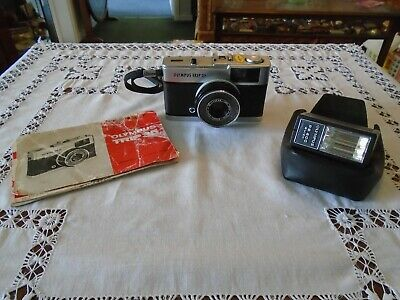 Olympus Trip 35 35mm Film Camera With Flash and Instructions