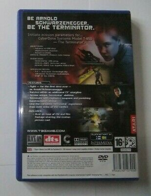 Terminator 3: Redemption - Playstation 2 ps2 Game Pal
