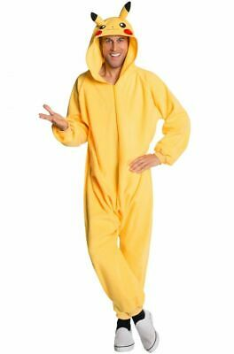 Pokémon: Pikachu One piece Adult Costume jumpsuit