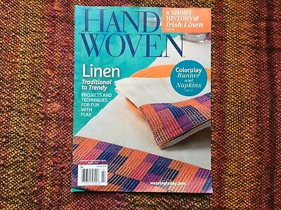 Handwoven Magazine Jan/Feb 2016