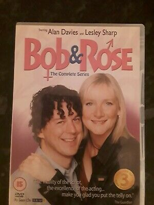 Bob and Rose  The Complete Series DVD Alan Davies, Lesley Sharp 2 DVDs set