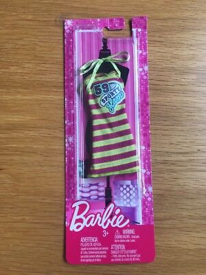Barbie Yellow & Pink Sporty Glam Dress Clothing Mattel N4875 X7846 **New Boxed**