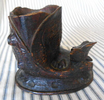 Antique Carved Wood Sculpture Black Forest