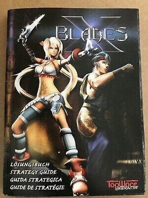 X-Blades Strategy Guide ~ BRAND NEW ~