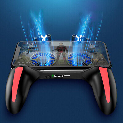 Quick Cooling Mobile Phone Gaming Controller Gamepad For PUBG Mobile Android IOS