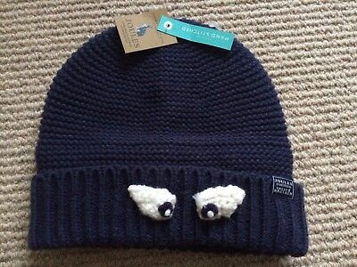 The Most Fantastic 'Joules' Hand Stitched Woolly Hat - Brand New Size 8-12 Yrs