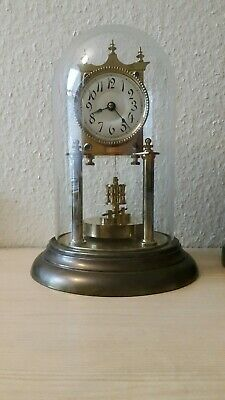 400 day clock, torsion dome clock, anniversary antique clock