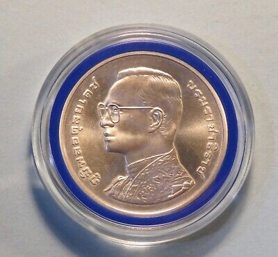 1999 H.M. King Rama 9 IX 6th Cycle 72nd Birthday Thailand 600 Baht Silver Coin