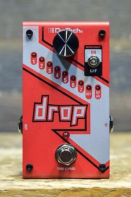 DigiTech Drop Polyphonic Drop Tune Pitch-Shifter Electric Guitar Effect Pedal