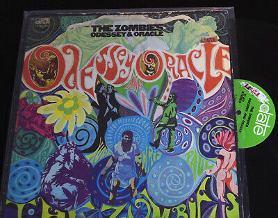 The Zombies Odessey And Oracle LP  DATE TES 4013