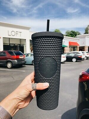 Starbucks 24oz Matte Black Studded Tumbler Cup Fall 2019 LIMITED EDITION NEW NWT