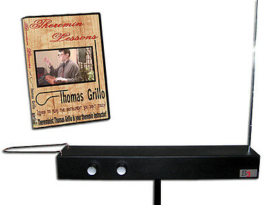 BURNS B3 DELUXE THEREMIN plus Theremin Lessons DVD - Loop and Rod Instrument