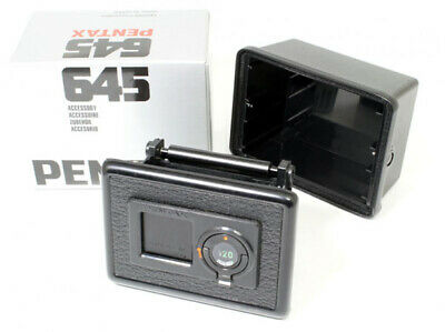 Pentax 645 120 Film Holder Back