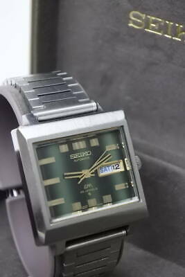 Seiko LM 5606-5080 Vintage Day Date 25 Jewels Automatic Auth Mens Watch Works