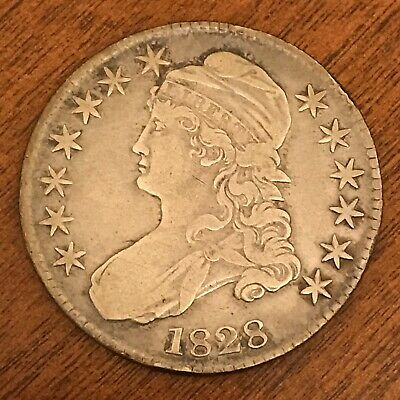 1828 Capped Bust Half Dollar